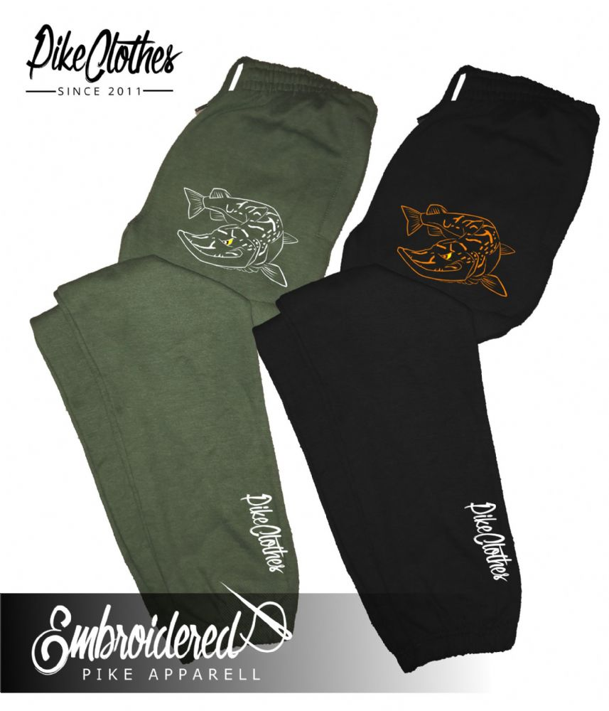 025 EMBROIDERED PIKE  JOGGERS
